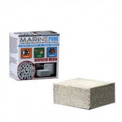 Marine Pure Biological Media - Block (8 x 8 x 4 Inches)