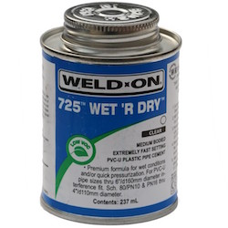 Weld On Wet 'R Dry 240ml