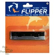 Flipper Aquarium Magnetic Glass Cleaner Replacement Blades PLASTIC