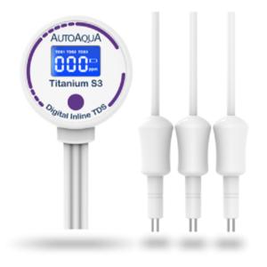 AutoAqua Titanium S3 Triple Digital TDS Meter