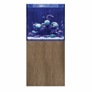 EA Reef Pro 600S Cube and Cabinet (Tobacco Halifax Oak)